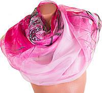 Воздушный женский шарф из шифона 194 на 108,5 см. ETERNO (ЭТЕРНО) P-P-41