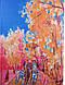 Прекрасный женский шарф из шифона 194 на 110 см. ETERNO (ЭТЕРНО) P-P-40, фото 3