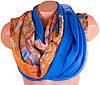 Прекрасный женский шарф из шифона 194 на 110 см. ETERNO (ЭТЕРНО) P-P-40
