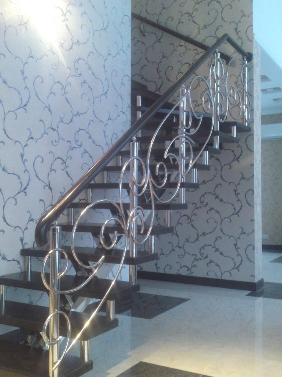 Лестницы из нержавеющей стали фото