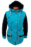 Куртка демисезонная парка на девочку 7773