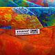 Женский стильный шарф из шифона 201 на 144 см. ETERNO (ЭТЕРНО) P-P-54, фото 3