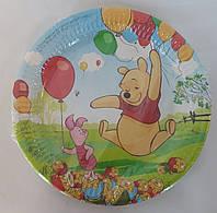 Бумажные тарелки Винни Пух