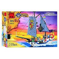 """Конструктор BRICK """"Пиратский корабль"""" 305"""