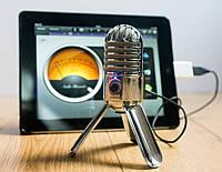 Микрофон вокальный Samson Meteor Mic USB микрофон студийный кардиодный 20-20000 Гц конденсаторный для планшета