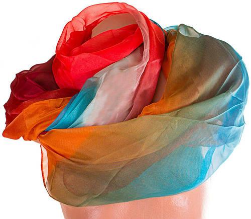 Стильный женский шарф из шифона 180 на 147 см. ETERNO (ЭТЕРНО) P-P-78