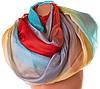 Эффектный женский шарф из шифона 183 на 147 см. ETERNO (ЭТЕРНО) P-P-79