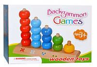Деревянная игрушка Пирамидка-счет MD 0072 Woody