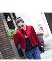 Короткая замшевая куртка 4 цвета