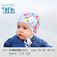 Летняя шапка для девочек TuTu
