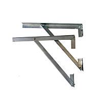 Кронштейн для дымохода из нержавеющей стали (500 мм)