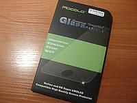 Защитное стекло Mocolo для Samsung Galaxy Alpha G850 противоударная пленка (оригинал, блистер пак)