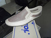 Мужские летние туфли ,кожа натуральная