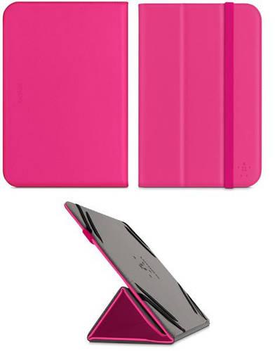"""Универсальный чехол BELKIN Tri-Fold Folio Stand для дисплея 7-8"""" дюйма (Rose) F7P202B1C02"""