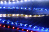 Синяя (blue) лента светодиодная  6,0W SMD3528 (60 LED/м); Outdoor IP67 Premium