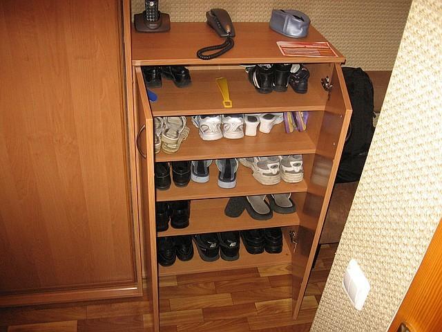 Своими руками обувного шкафа