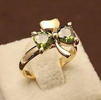 Кольцо LOUIS VUITTON ювелирная бижутерия золото 14К кристаллы Сваровски