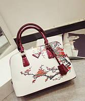 Красивая женская сумка с дизайнерским рисунком. Стильный аксессуар. Оригинальная сумка. Качественная. Код:КД84