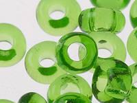 Чешский Бисер Preciosa (цвет: 50430 / 118, салатово-зеленый), 50г