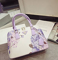 Красивая женская сумка с дизайнерским рисунком. Стильный аксессуар. Оригинальная сумка для женщин. Код: КД84-2