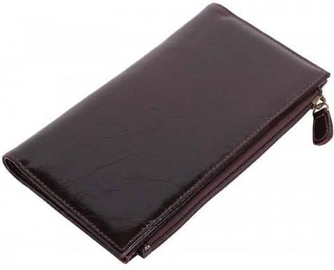 Комфортный женский кошелек Vip Collection 1521B lac коричневый