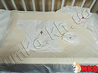 Набор для крещения (шапочка, сорочка, крыжма) ТМ Lari