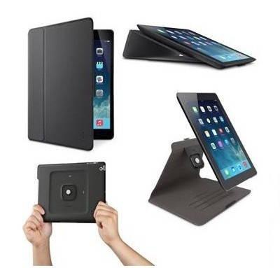 "Удобный чехол iPad Air BELKIN FreeStyle Cover 9.7"" (Blacktop) F7N100B2C00"
