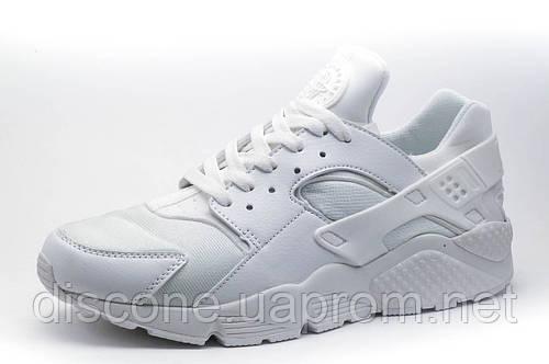 Мужские кроссовки  Найк Air Huarache, белые, р. 44