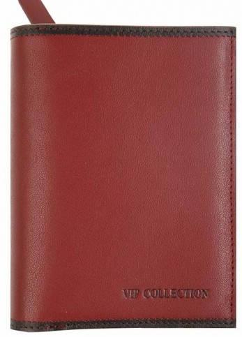 Эффектный женский кошелек Vip Collection 27R BL красный
