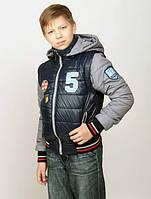 Детская куртка на мальчика трансформер демисезонная