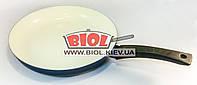 Сковорода алюминиевая 28 см (глубина 4 см) с керамическим покрытием БИОЛ 2804Д
