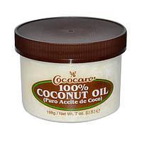 100 % кокосовое масло для волос и тела Cococare 100% Coconut Oil
