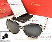 Женские солнцезащитные очки Cartier Polarized поляризация Картье мода 2016 модные стильные