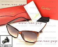 Женские солнцезащитные очки Cartier с градиентом Картье мода 2016 модные стильные молодежные