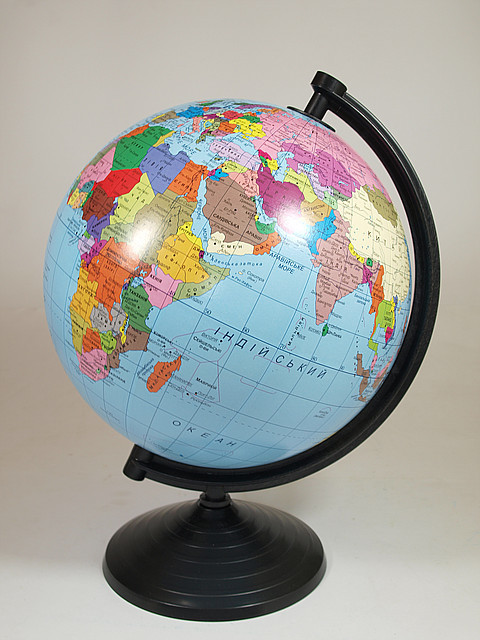 Глобус политический, диаметр 260мм