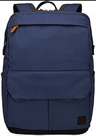 """Городской рюкзак с отделением для ноутбука 14"""" CASE LOGIC LODP114 DRESS BLUE синий, 6265736"""