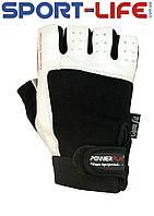 Перчатки для ТЯЖЕЛОЙ АТЛЕТИКИ PowerPlay PRO из прочной кожи