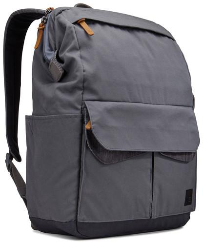 """Практичный городской рюкзак с отделением для ноутбука 14"""" CASE LOGIC LODP114 GRAPHITE графит, 6265737"""