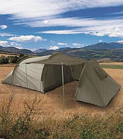 Палатка с кладовкой 3х местная. Олива