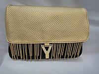Клатч  сумочка в стиле YSL с бахромой