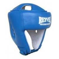 Шлем боксерский Reyvel винил (2) M, Синий