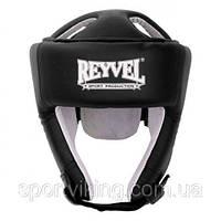Шлем боксерский Reyvel винил (2) M, Черный