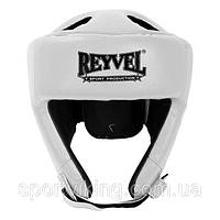 Шлем боксерский Reyvel винил (2) M, Белый
