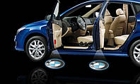 LED логотип 4-ое поколение в двери автомобиля