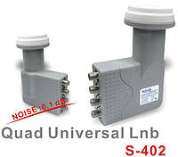 КОНВЕРТЕР Satcom Quad Universal LNB S-402(403)