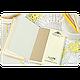 Надежная обложка для паспорта + блокнот BlankNote  BN-OP-KZ-9-IP белый, фото 4