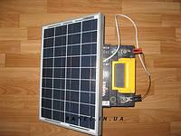Солнечное зарядное устройство для авто аккумулятора 20 Вт