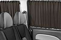 Автошторы Volkswagen Caddy - Фольксваген Кадди черные