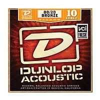 Струны DUNLOP DAB1048 80/20 BRONZE EXTRA LIGHT (10-48)