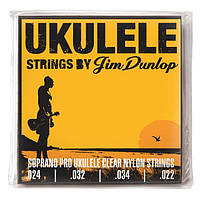 Струны для укулеле DUNLOP DUY301 UKULELE SOPRANO PRO